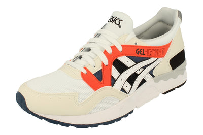 Asics Gel-Lyte V Mens H831Y  0101 - White White 0101 - Photo 0