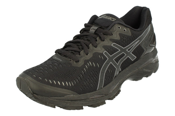 Asics Gel-Kayano 23 Womens T696N  9099 - Black Onyx Carbon 9099 - Photo 0