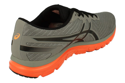 Asics Gel-Zaraca 5 Mens T6G3N 9690 - Aluminium Black Hot Orange 9690 - Photo 2
