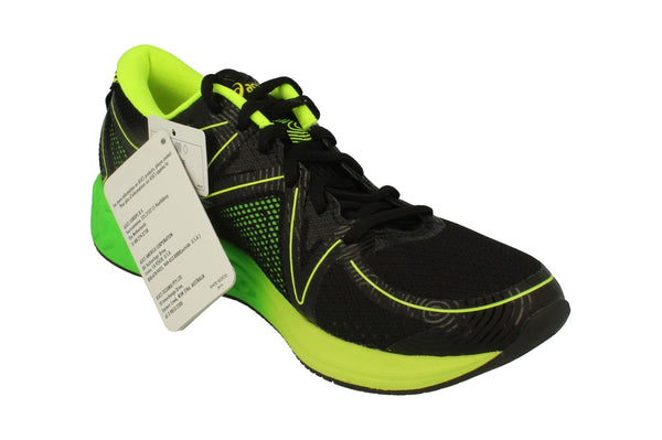 Asics Noosa Ff Mens T722N  9085 - Black Green Safety Yellow 9085 - Photo 0