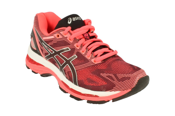 Asics Gel-Nimbus 19 Womens T750N  9093 - Black Silver Pink 9093 - Photo 0