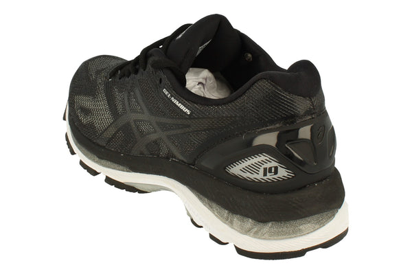 Asics Gel-Nimbus 19 Womens T750N  9099 - Black Onyx Silver 9099 - Photo 0
