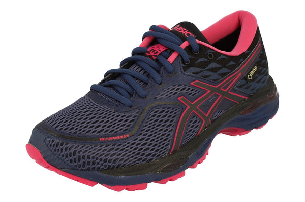Asics Gel-Cumulus 19 G-Tx Womens T7C7N  4990 - Blue Black Pink 4990 - Photo 0