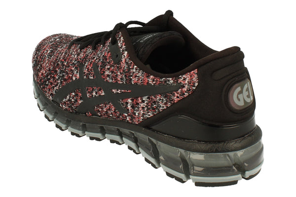 Asics Gel-Quantum 360 Knit 2 Mens T840N  9023 - Black Classic Red Stone Grey 9023 - Photo 0