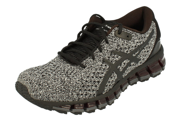 Asics Gel-Quantum 360 Knit 2 Womens T890N  9001 - Black White Black 9001 - Photo 0
