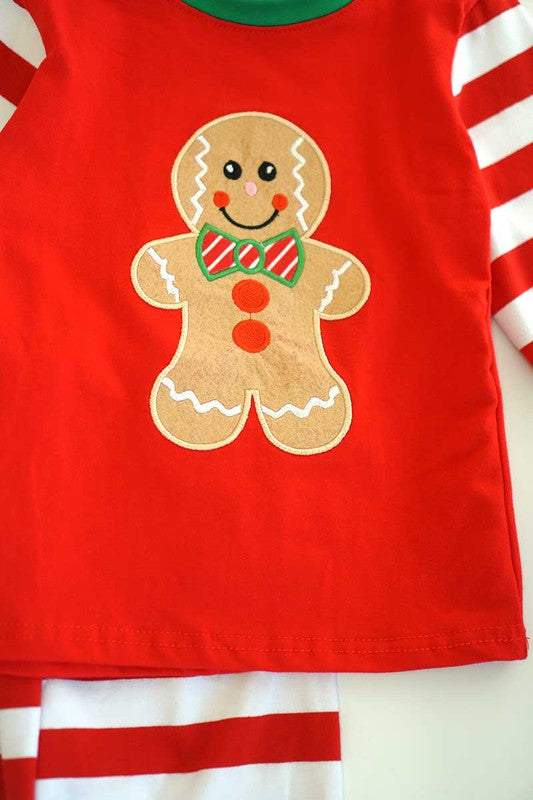 Gingerbread Boy Pajamas