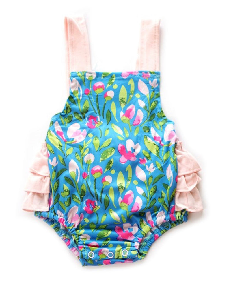 First Bloom Bubble Romper