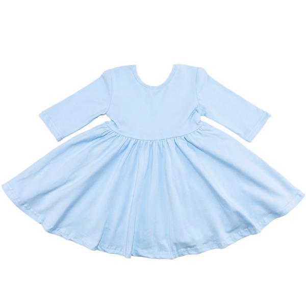 Blue Bird Twirl Dress