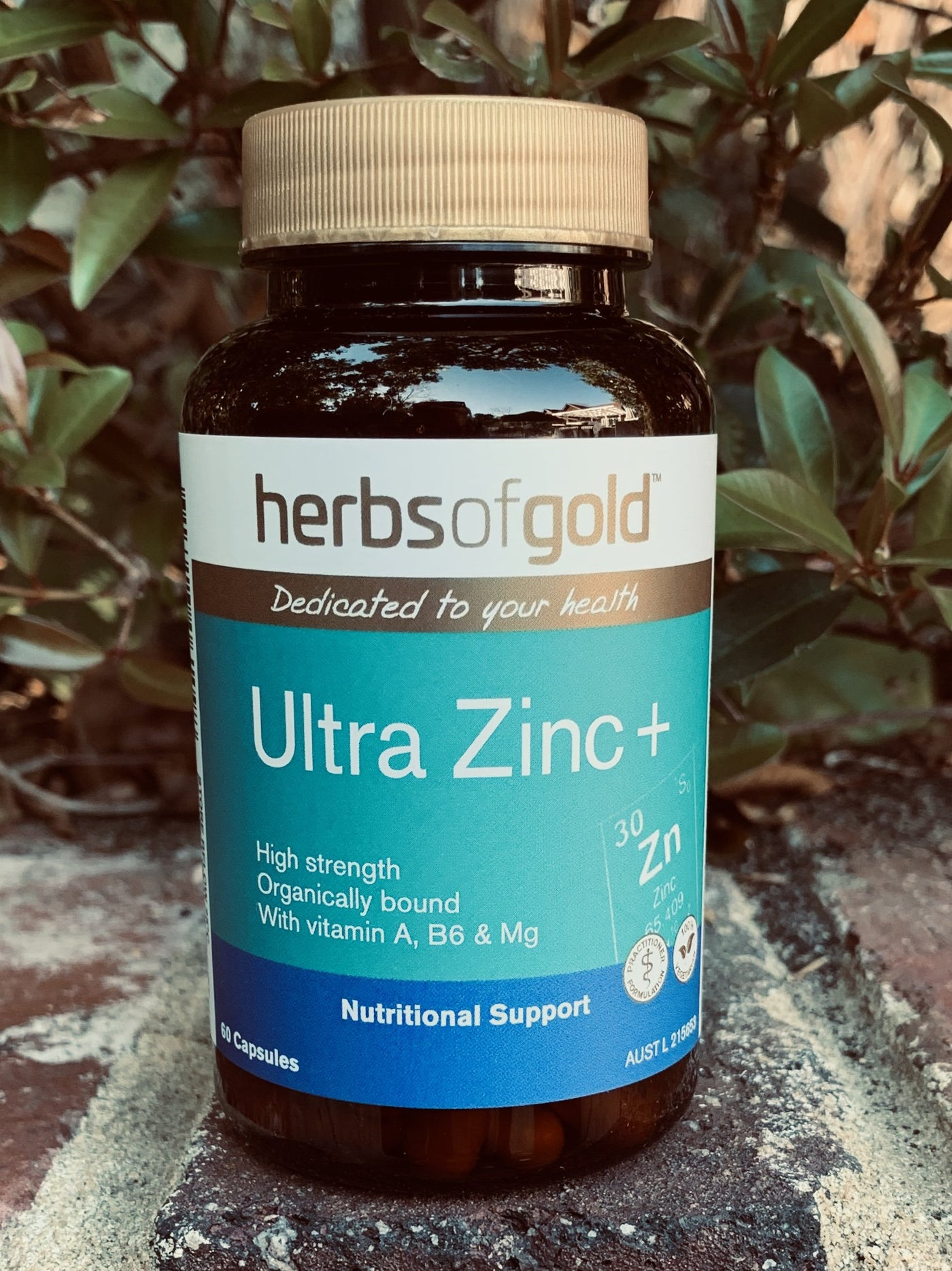 Herbs of Gold™ Ultra Zinc+ 60 Capsules