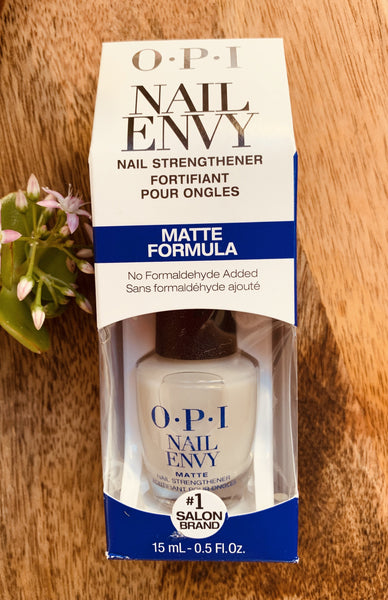 OPI Nail Envy Nail Strengthener Matte 15mL