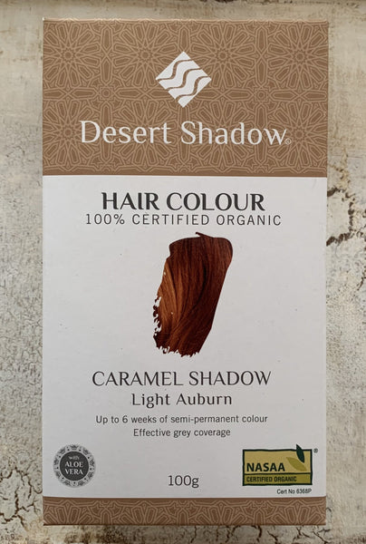Desert Shadow 100% Certified Organic Hair Dye - Caramel Shadow 100g