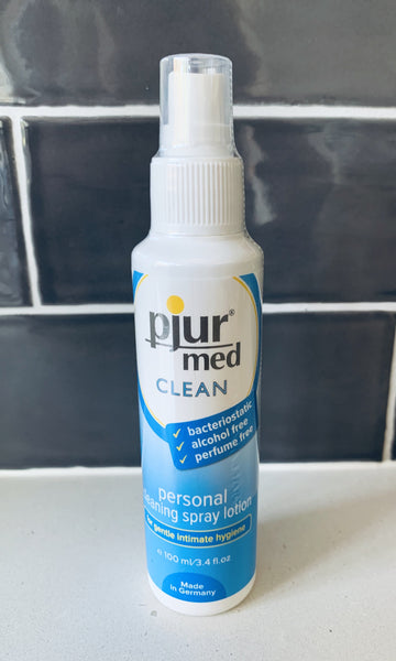 pjur®med CLEAN  personal cleaning spray lotion 100mL