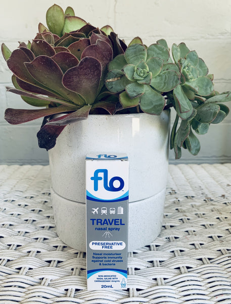 Flo™ Travel Nasal Spray 20mL (Preservative Free)
