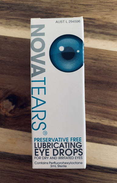 NOVATEARS® Lubricating Eye Drops 10mL
