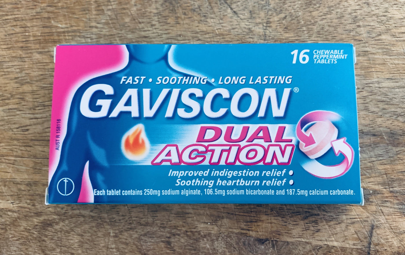 Gaviscon® Dual Action Tablets - for Heartburn & Indigestion