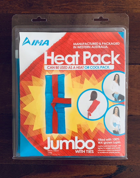 IMA Lupin Heat Pack - Jumbo (with Ties)