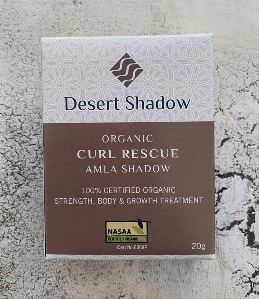 Desert Shadow CURL RESCUE - Organic Hair Treatment - Amla Shadow 100g