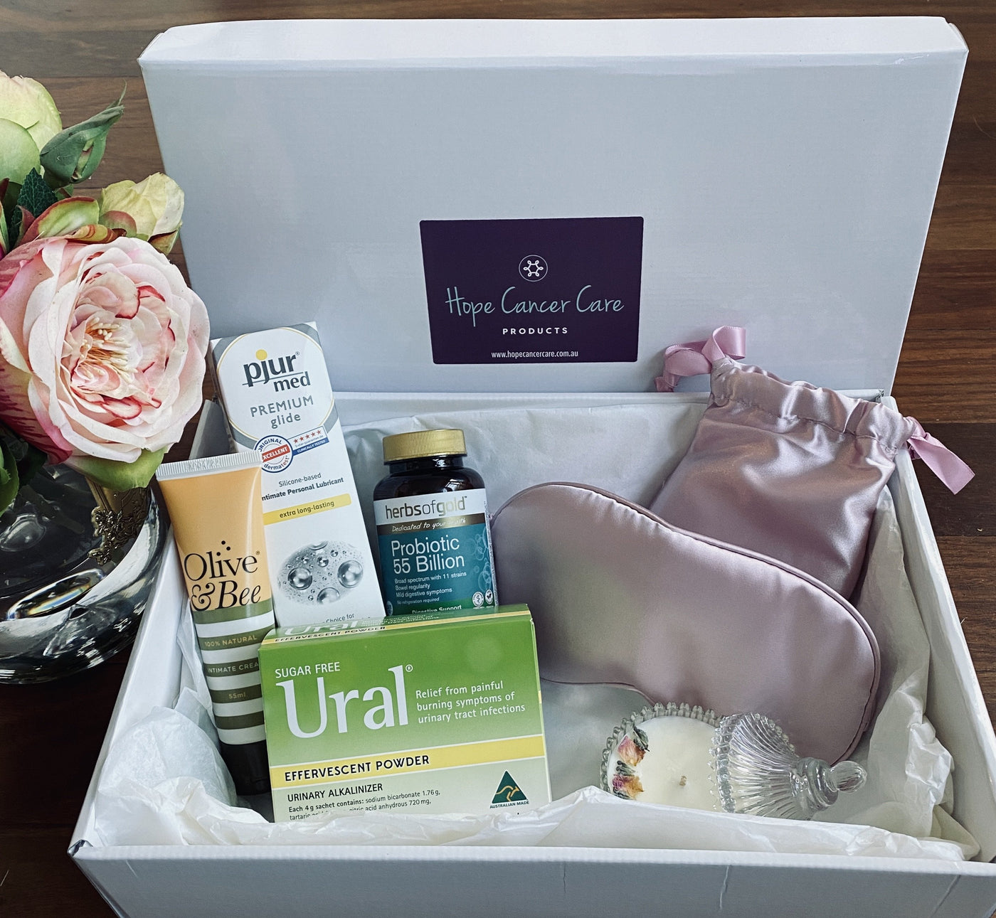 The HOPE Pelvic Radiation Gift Pack for Her