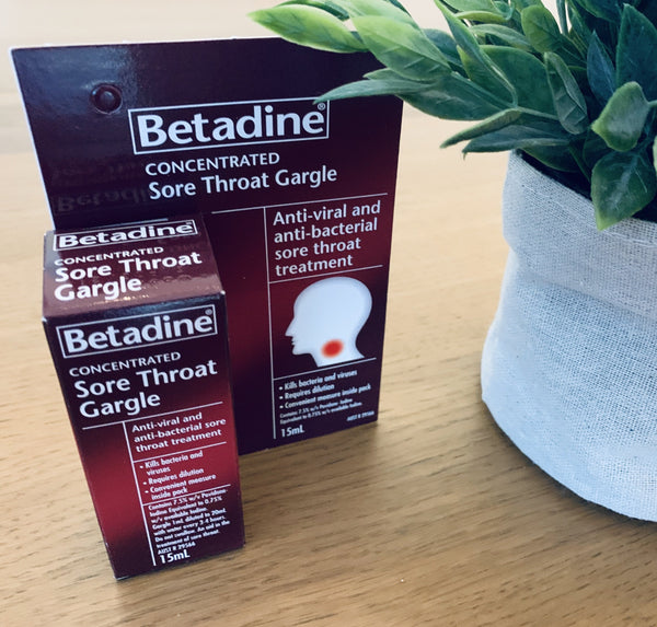 Betadine® Concentrated Sore Throat Gargle 15mL