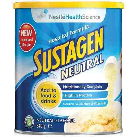 Sustagen® Hospital Active Neutral Formula 840g