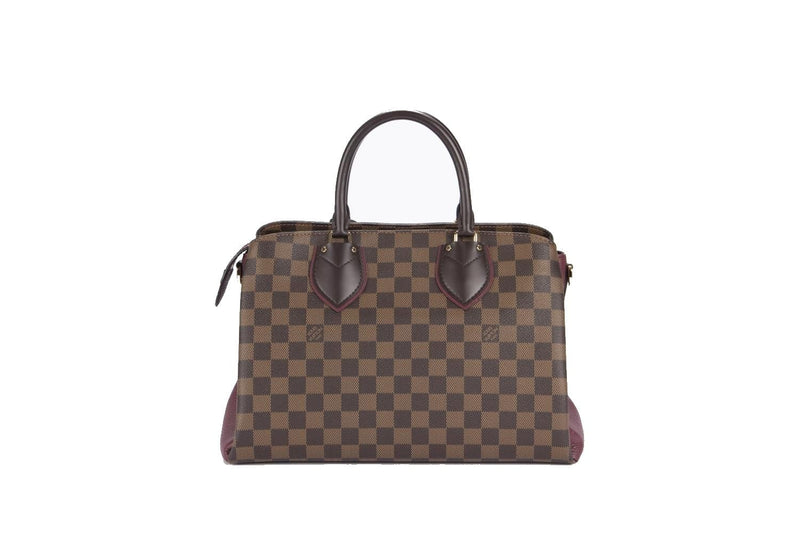 Attic House Bags LV N41487 NORMANDY DAMIER EBENE CANVAS BORDEAUX TRIM MDG-834-LV