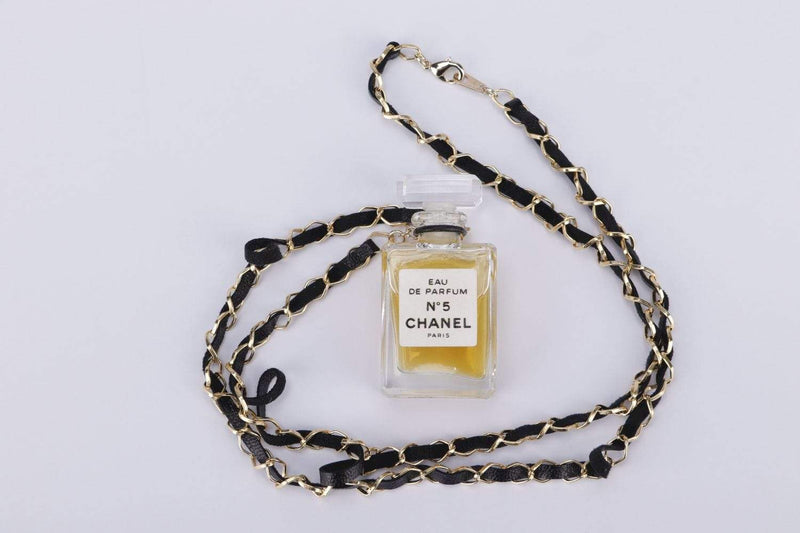 Attic House Necklace Chanel N5 Perfume Pendant Necklace H-703-CHA