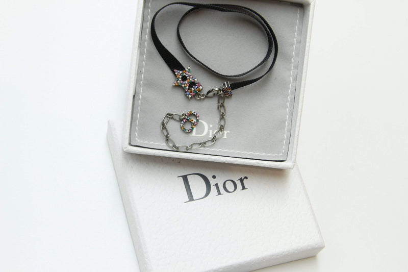 Attic House Necklace CHRISTIAN DIOR CHOKER NECKLACE MDG-1236-CD