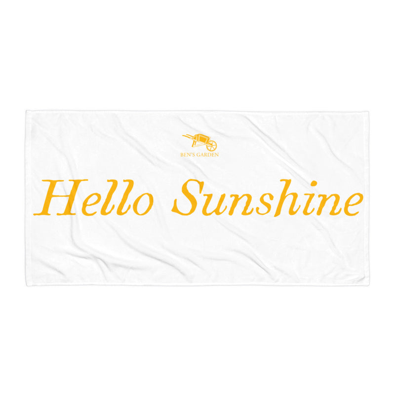 Hello Sunshine Towel