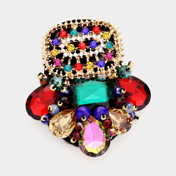 Pack a Punch Brooch
