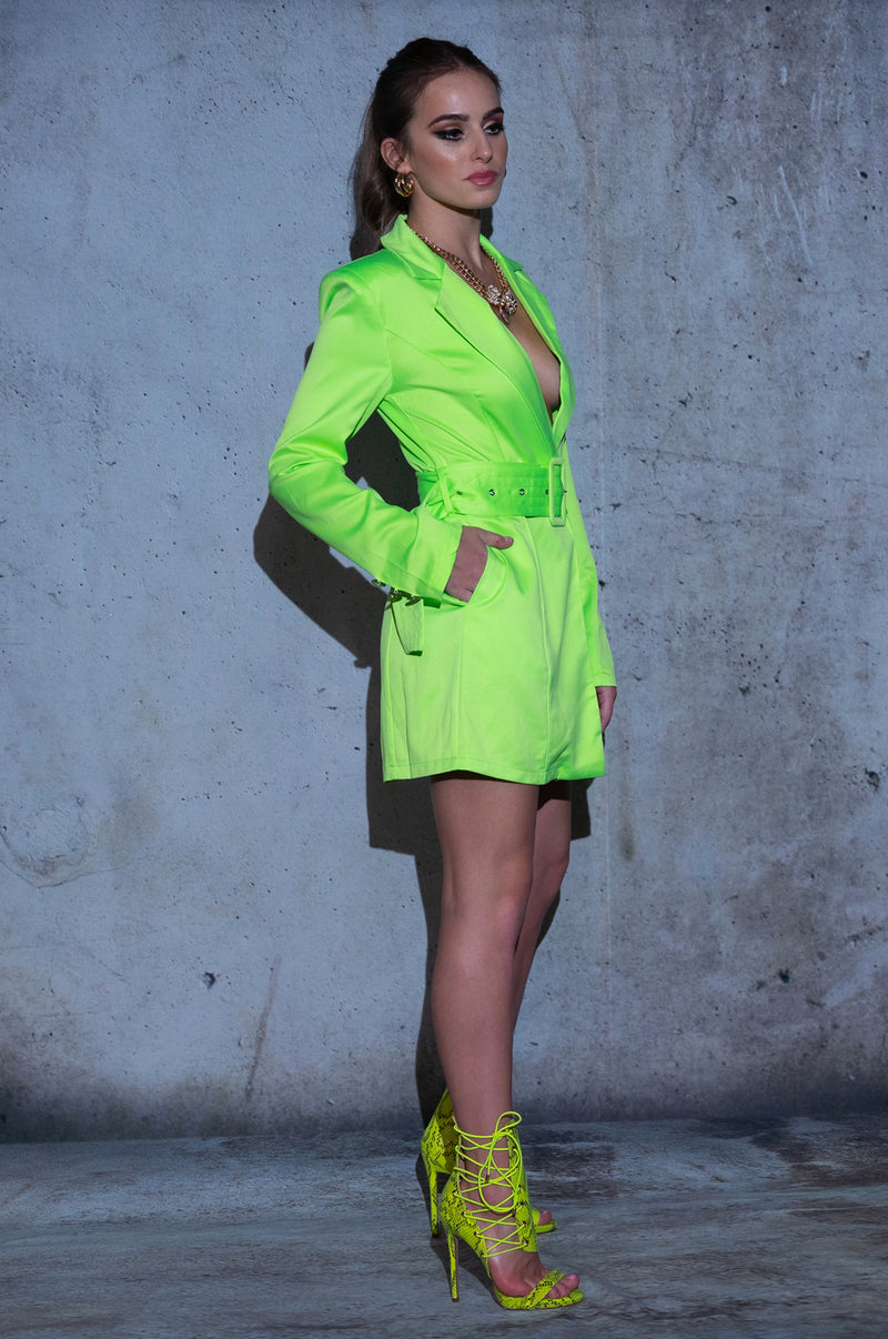 Illuminate Blazer Dress