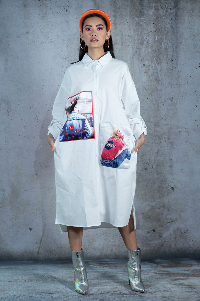Meet Me In OsaKa Shirt Dress