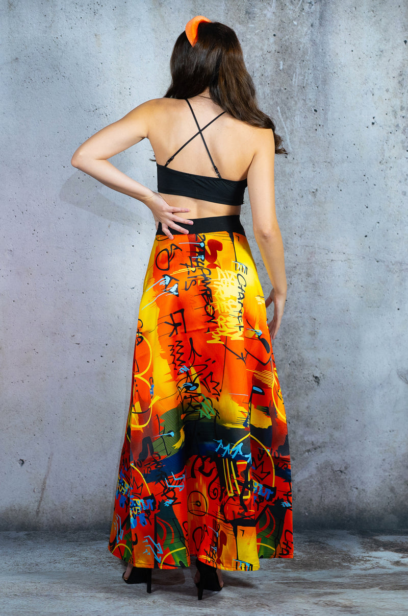 Sunrise in Paris Skirt