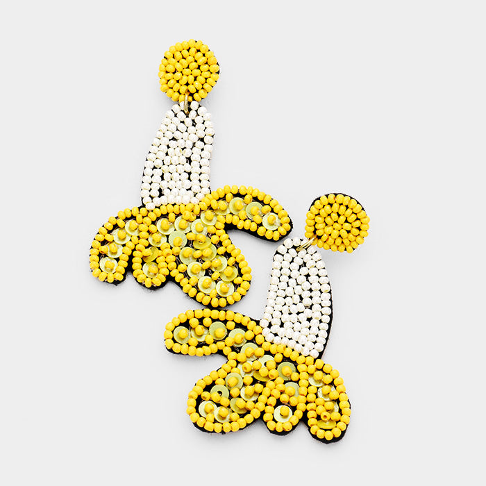 Pop Banana Earrings