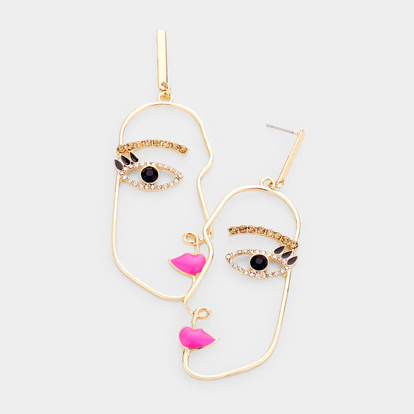 Face The Facts Earrings