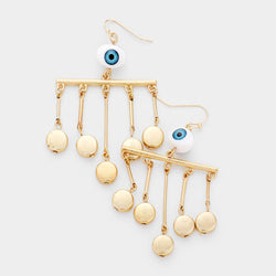 All Eyes On Me Earrings - GOLD