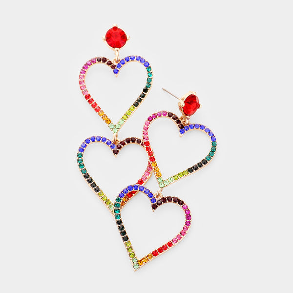 Rainbows of Love Earrings