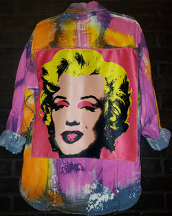 Marilyn Warhol Shirt/Jacket