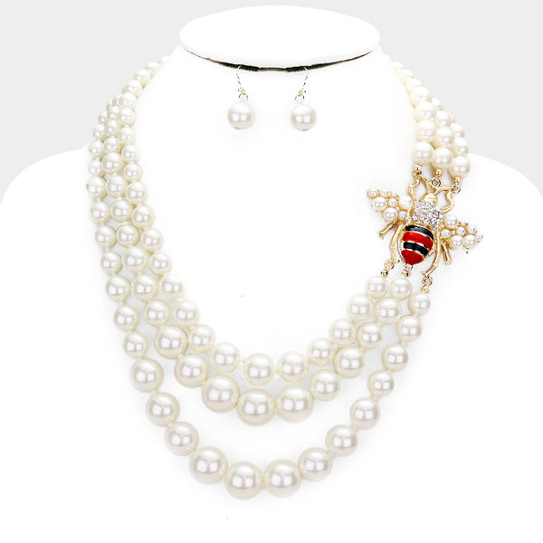 Pearls Of Honey Necklace