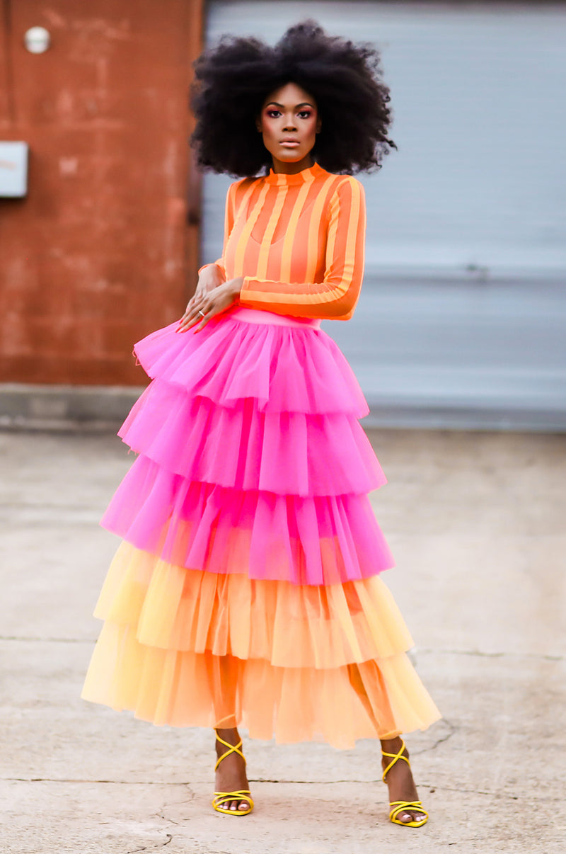 She's Arrived Tulle Skirt