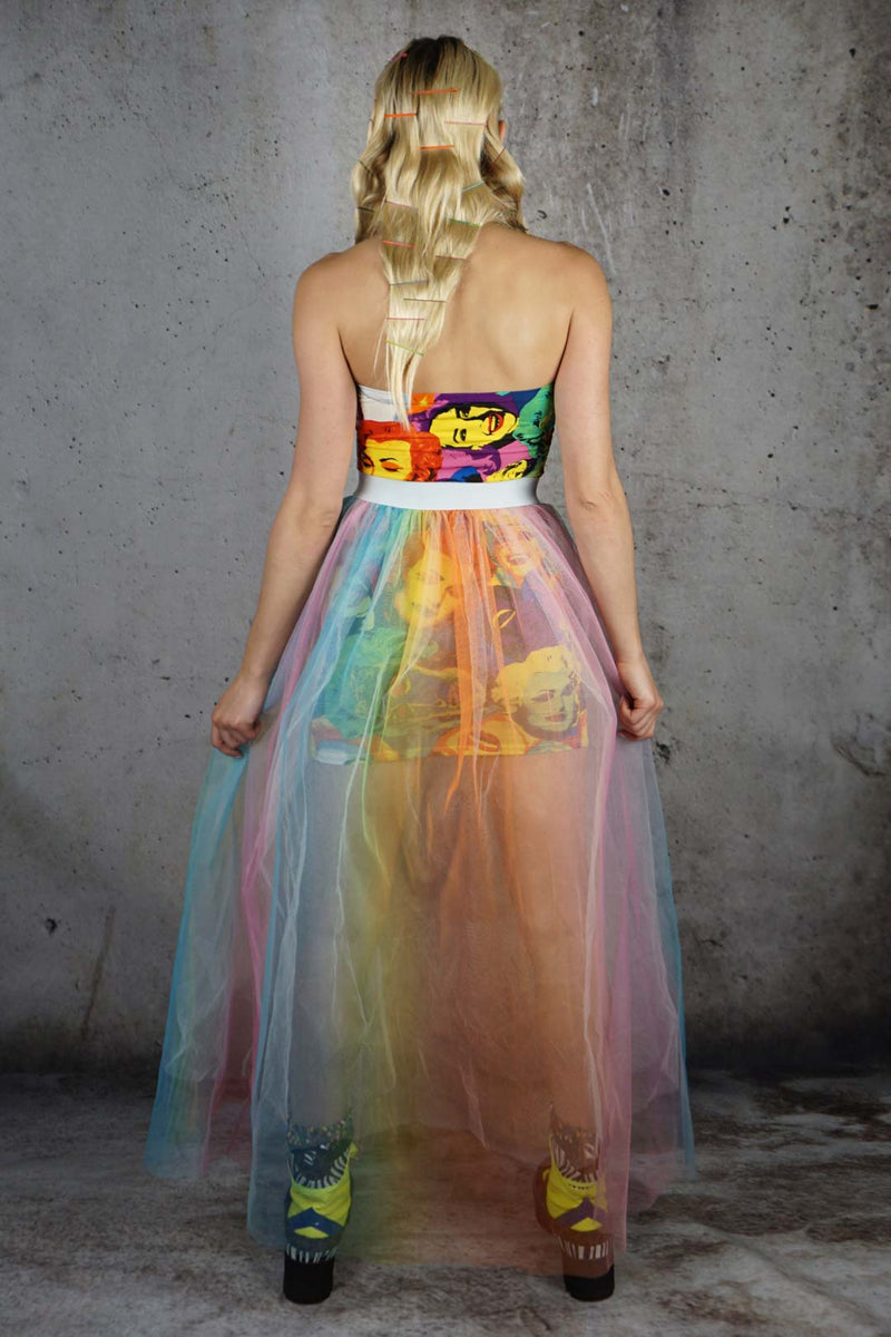Dusted Rainbows Tulle Skirt
