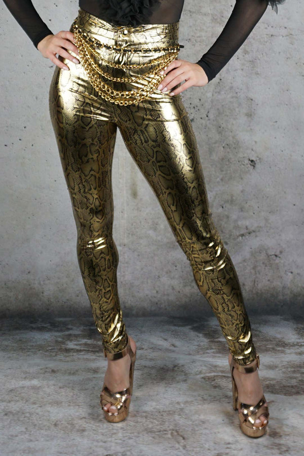 Fort Knox Snakeskin Pants
