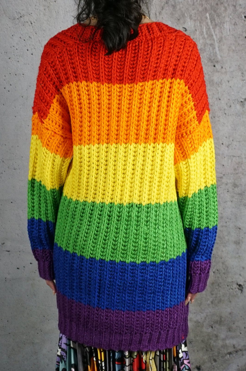 Roy G Biv Cardigan Top