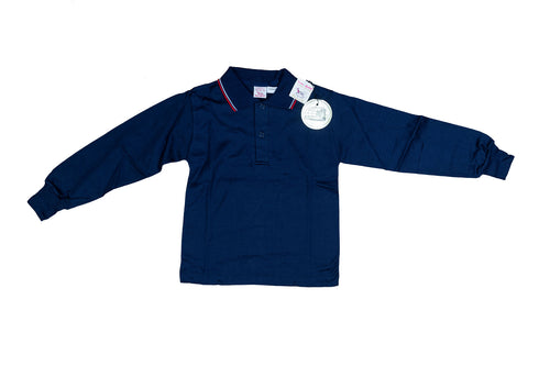 KID'S BUSTER BROWN NAVY POLO