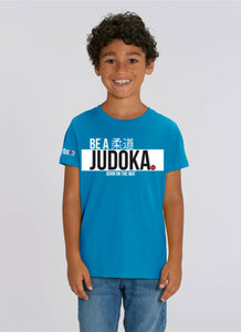 "Ippon Gear - T-shirt ""Be a judoka"" enfant"