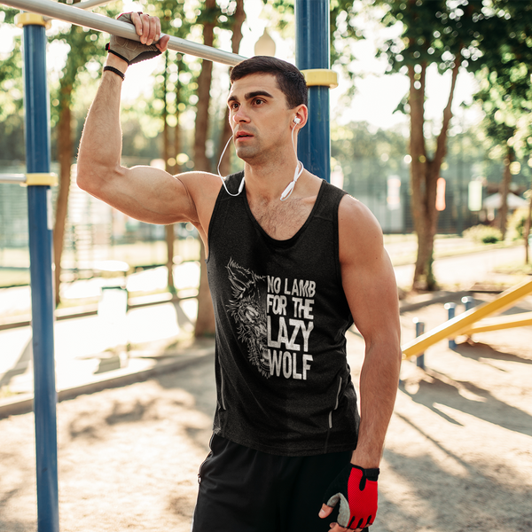 Lazy Wolf Workout Tank Top