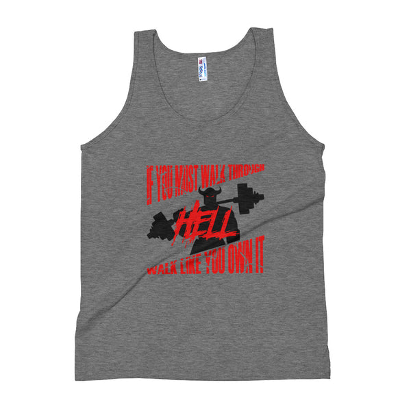 Walk Through Hell Workout Tank Top-Tank-Burly American Trading Company