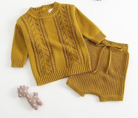Baby Bear Knitted Set