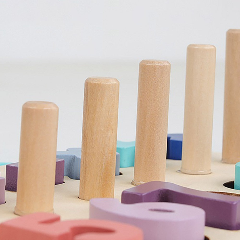 Montessori Wooden Counting Toy by Olly&Owl