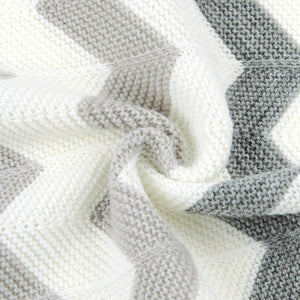 ZigZag Knitted Blanket