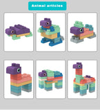 Soft 3D Building Blocks